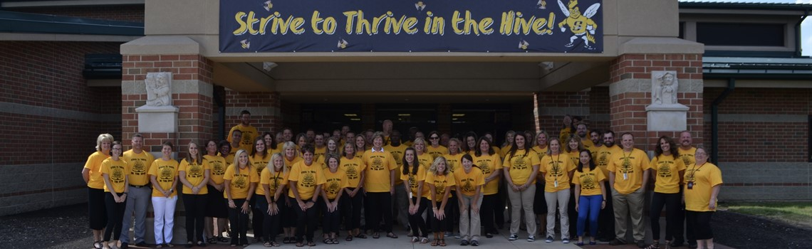 Strive to Thrive - SMS staff welcomes students back with pride.